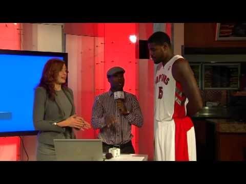 Raptors Media Day: Amir Johnson