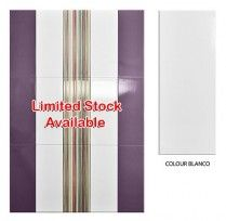 (D) COLOUR BLANCO 20*50CM (1.2SQM/BOX) GC - ONLY WHILE STOCKS LAST