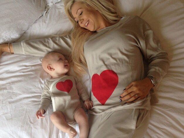 Mum and baby matching organic cotton pyjamas by PJMamma on Etsy https://www.etsy.com/listing/218909011/mum-and-baby-matching-organic-cotton