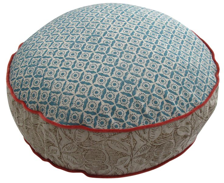Floor cushion canvas home.com.au