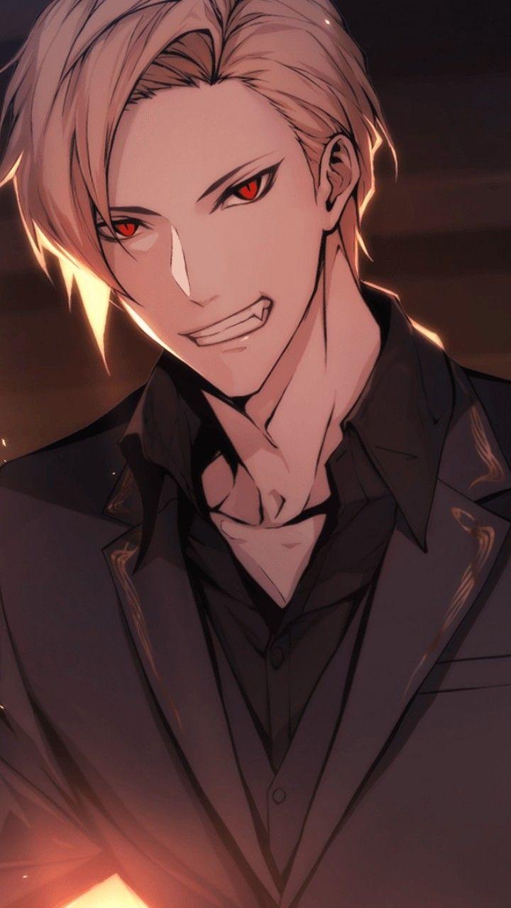 Twilight Fangs Rayleigh In 2020 Anime Boy Hair Blonde Hair Anime Boy Cute Anime Boy