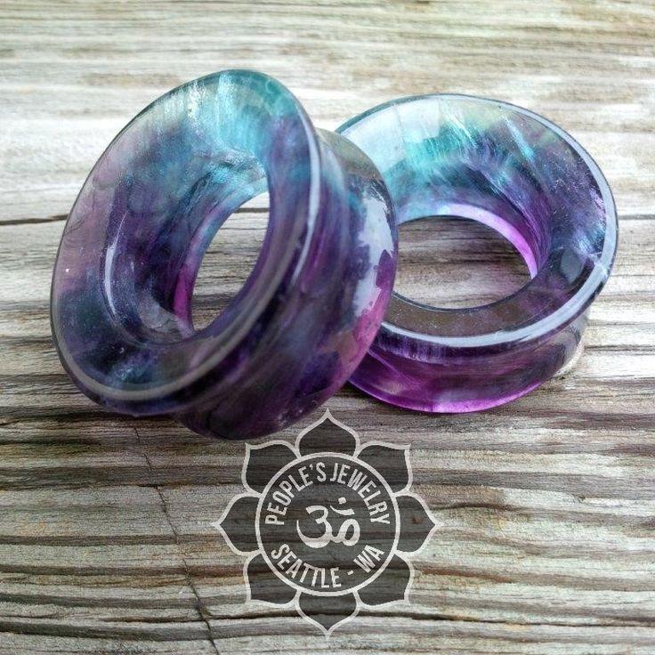 Rainbow Flourite Eyelets