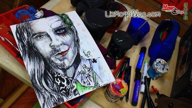 #MARSart | #jaredleto and the #joker made by Art liz Mogollon - 2 #30secondstomars #thirtysecondstomars