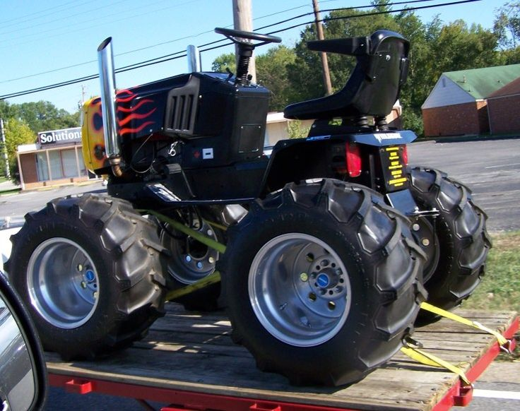 Hot Rod Lawn Mower