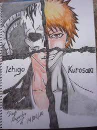 Resultado de imagen para ichigo kurosaki dibujo