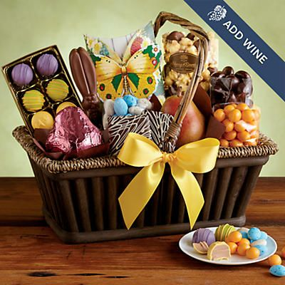 23 best easter baskets images on pinterest easter baskets gift no easter is complete without chocolate lots and lots of chocolate so we negle Choice Image
