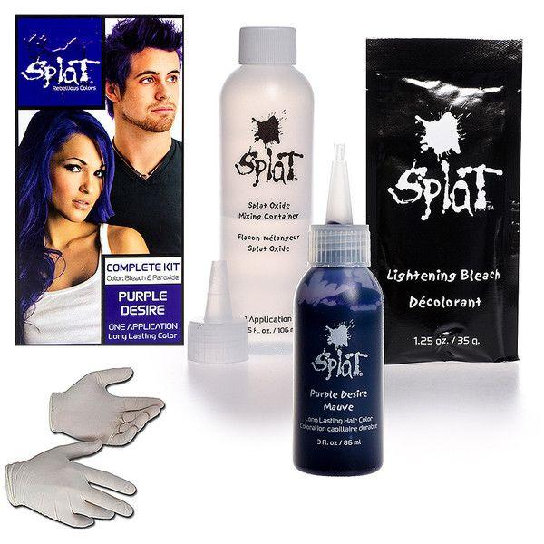 Splat Purple Desire Long Lasting Colour Hair Dye Kit 12
