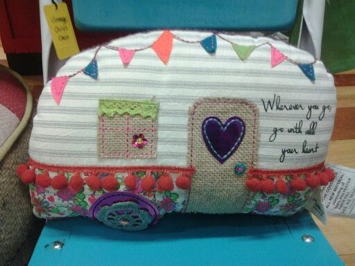 Glamper camper pillow