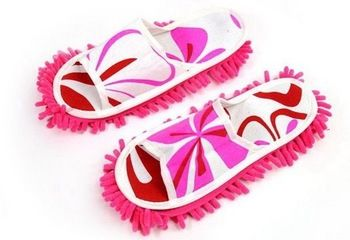 Cleaning Slippers Lazy Girl Slippers ,Mop Slippers ,Floor Cleaning   Free Shipping
