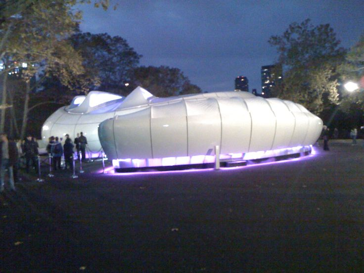 Chanel Art Pavillion, Central Park, 2008