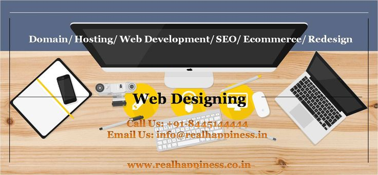 Website Designing Company in Haridwar - Uttarakhand Real Happiness is one stop solution company for web designing & Development, SEO, content writing, social media marketing in Haridwar Uttarakhand. http://realhappiness.co.in/