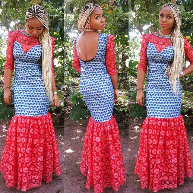Top Ten Beautiful Ankara Gown Styles For Wedding Event Beautiful