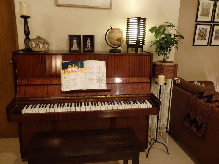 Tuned) Music instruments, Piano, Tune