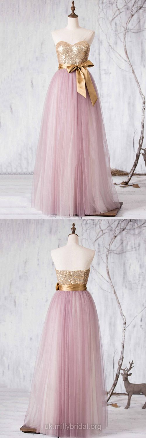 Long Bridesmaid Dresses Princess Modest, Multi Colours Tulle Bridesmaid Dress Sweetheart, Country Wedding Dresses Vintage