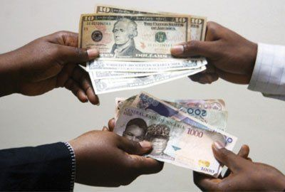 Naira appreciates against dollar at parallel market   The Naira on Tuesday appreciated against the dollar at the parallel market closing at N468 to a dollar the News Agency of Nigeria (NAN) reports. The Nigerian currency gained N2 from N470 it posted on Monday while it exchanged at N570 and N517 against the Pound Sterling and the Euro respectively. Trading at the Bureau De Change (BDC) segment of the market showed that the Naira was sold at the approved rate of N380 to the dollar while Pound…