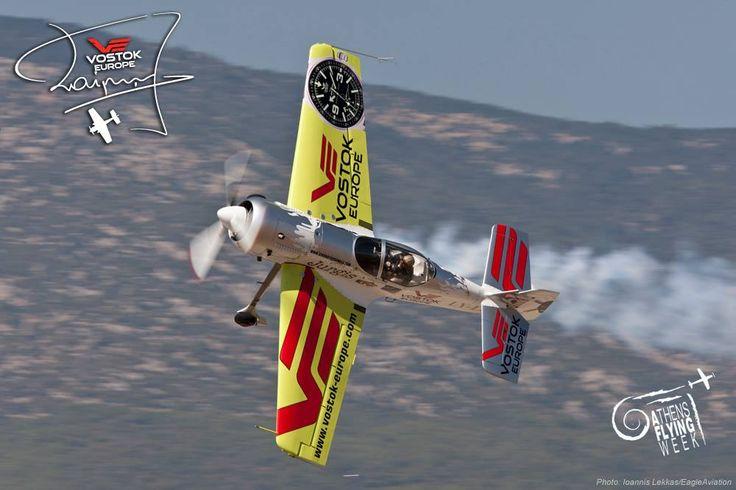 Jurgis Kairys flying above Athens #JurgisKairys #VostokEurope #VichosWatches #aviation #pilot #aviator #AthensFlyingWeek