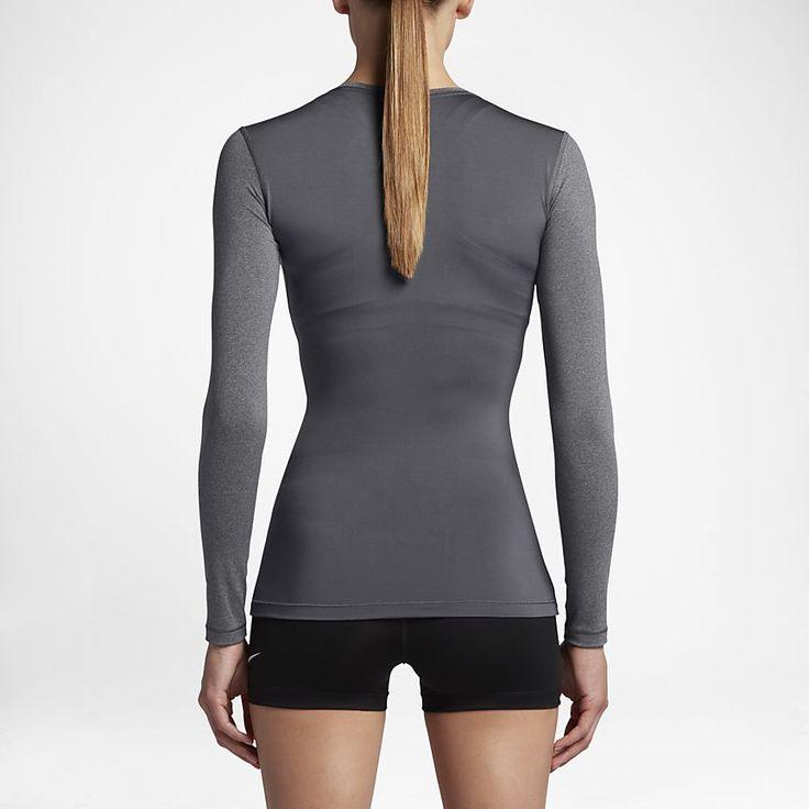 Nike Pro Camiseta de entrenamiento de manga larga - Mujer