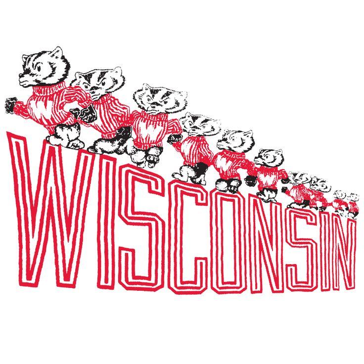 Wisconsin Badgers   Frank Ozmun Graphic Design