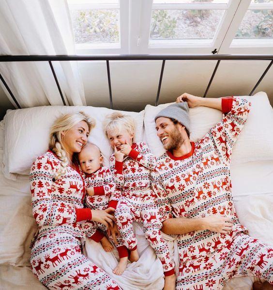 Matching family Christmas pajamas!