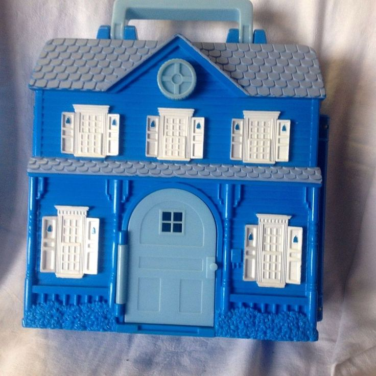 Bear in the Big Blue House Playset #BearintheBigBlueHouse