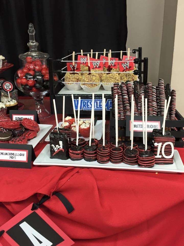 1000 Ideas About Wrestling Birthday Parties On Pinterest