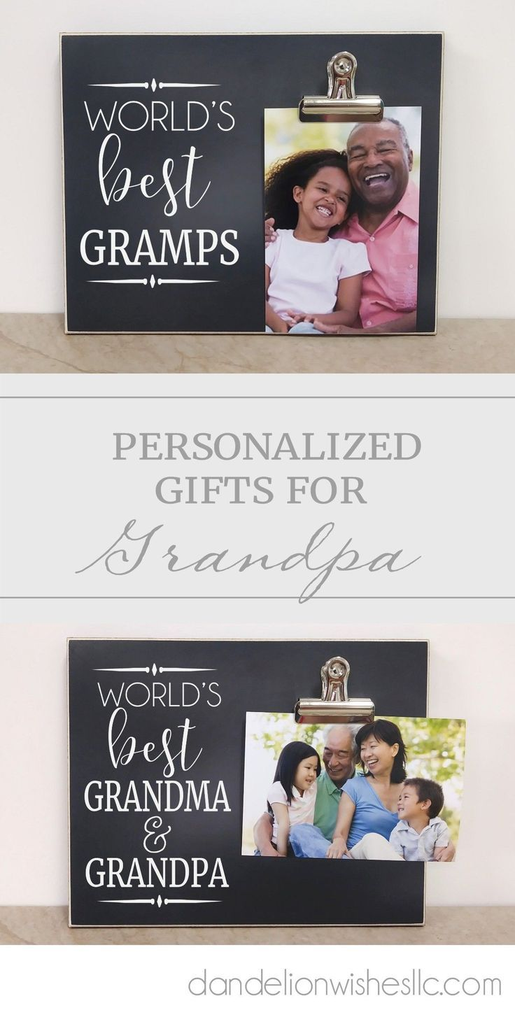 Show The World Who Is The Best Grandpa With This Heartwarming Frame The Names On This Personalized Pictur Grandparent Gifts Grandparents Card Grandparents Day