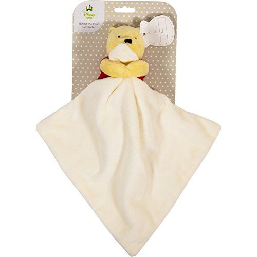 Winnie the Pooh Taggy Comforter Blanket Girl Boy Sensory Baby Gift
