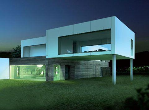 Casa prefabricada pro pmp casas pr t porter casas - Casas modulares hormigon ...