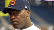 "Lovie Smith out after 9 seasons as Chicago Bears football coach, his epitaph could read, ""He couldn't fix the Offense."""