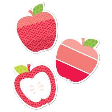 "Apples 3"" Designer Cut-Outs Painted Palette"
