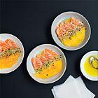 Ceviche van zalm met mango - recept - okoko recepten