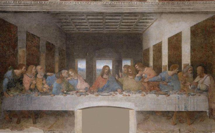 Leonardo da Vinci's Last Supper.