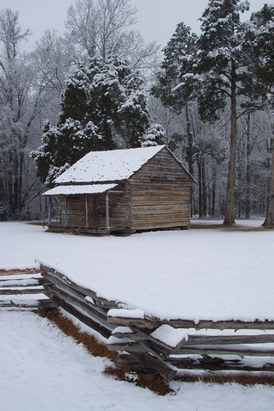 The only surviving structure from the Battle of Shiloh