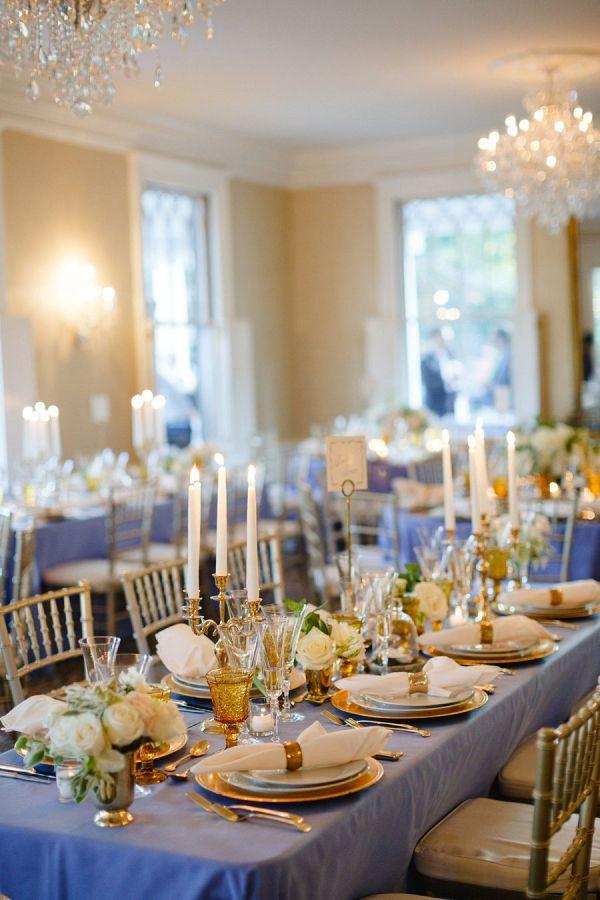 Elegant reception space  #wedding #weddingideas #aislesociety #vintagewedding #bluewedding