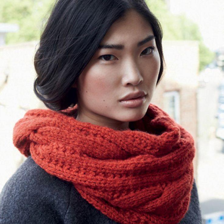 + de 30 DIY pour tricoter un snood
