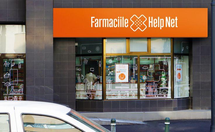 The Help Net retail design created by Brandient