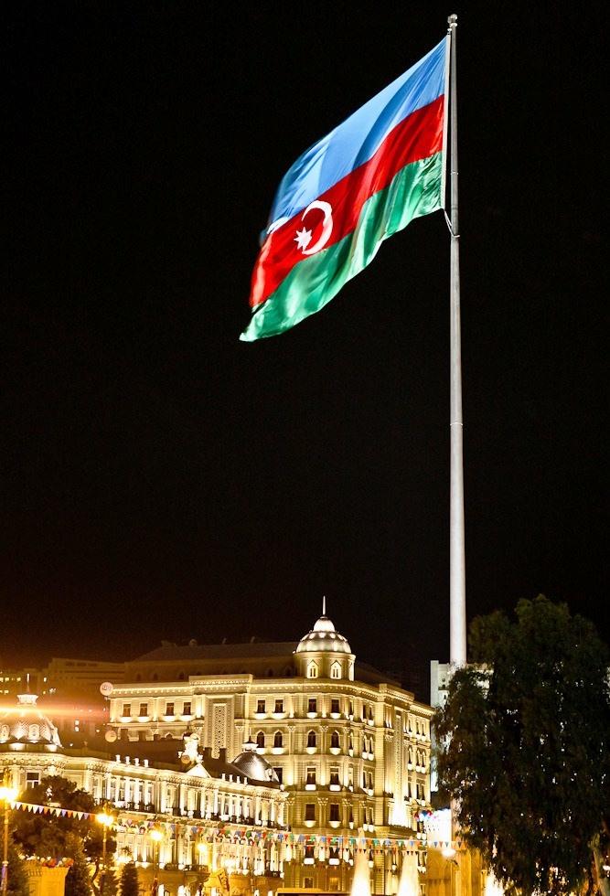Flag of Azerbaijan!