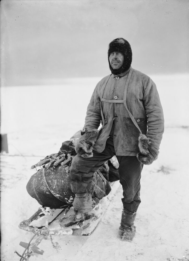 Captain Scott's Lost Photos From South Pole Expedition Unveiled