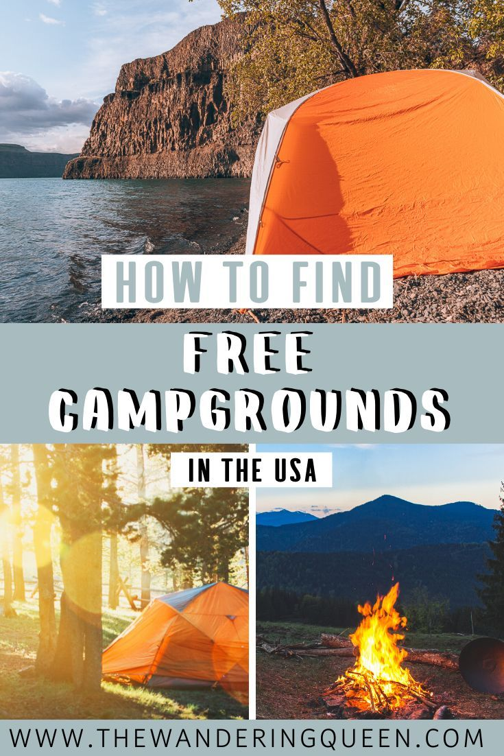How To Find Free Camping Near Me Free Camping Free Campgrounds Travel Usa