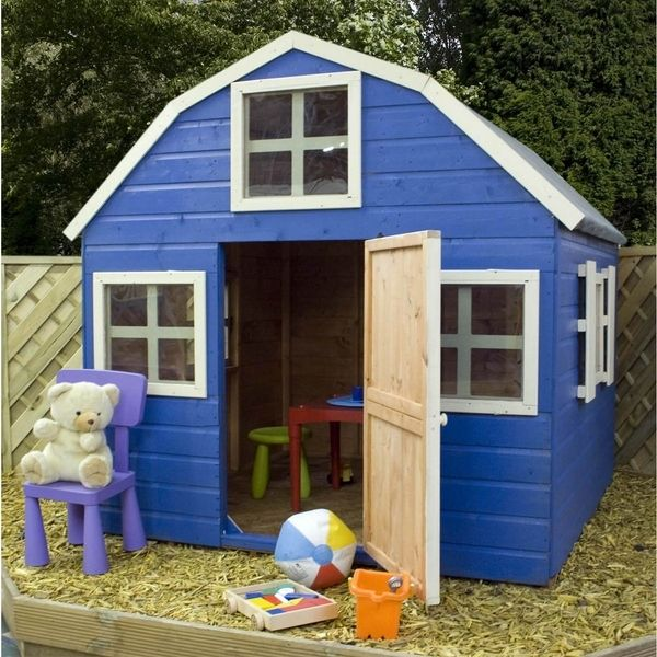 outdoor playhouses for kids plans