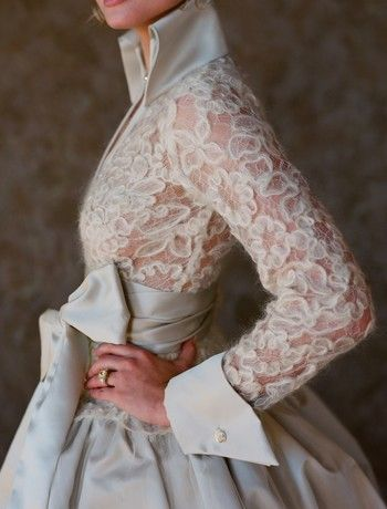 I wouldn't necessarily choose this as my wedding dress, but it's beyond beautiful!! | White Chocolate Label by Scott Corridan
