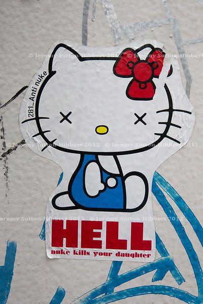 Street Art By 281 Anti Nuke - Tokyo (Japan)