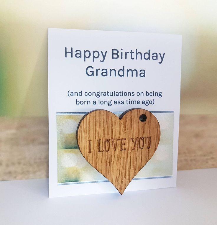 Gran Card, Birthday, Happy Birthday, Grandma Gift