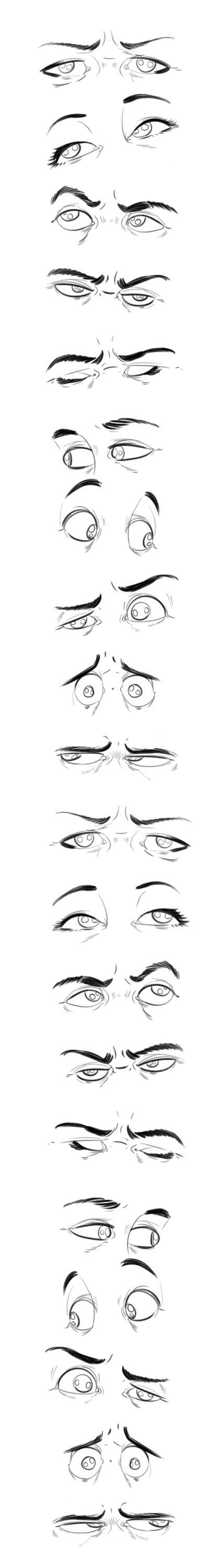 Gesichter, Augen, Mund.....