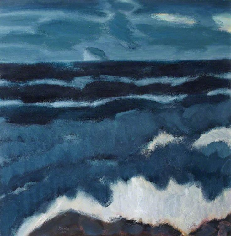 JOHN HOUSTON  Winter Sea, North Berwick, East Lothian (1982)