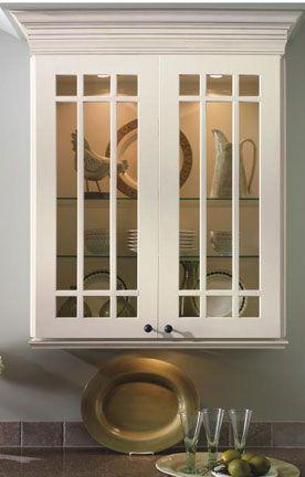 Diamond at Lowes - Mullion and Glass Doors - Prairie Mullion & Best 25+ Glass cabinet doors ideas on Pinterest   Glass kitchen ... Pezcame.Com