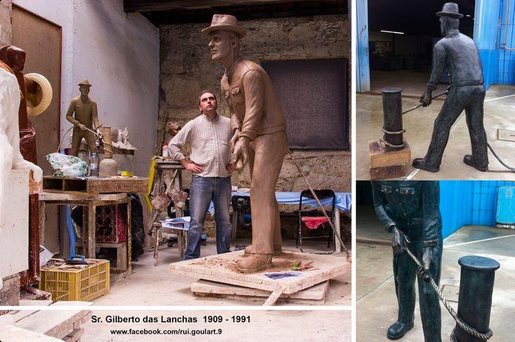 Sr. Gilberto Mariano em Bronze, com 2 metros de eternidade….Milhares de gestos, milhares de atitudes recheadas de humildade e honestidade