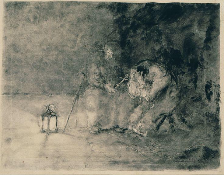 Repentance, 1895 Nikolaos Gyzis