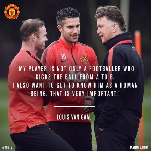 Louis van Gaal: in his own words. The #mufc manager explains his football philosophy