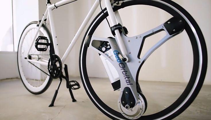 GeoOrbital: электрическое колесо для велосипеда доступно для предзаказов